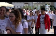 Un barrio de todos celebra  una carrera escolar por la igualdad con varios institutos de Algeciras