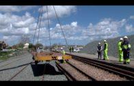 Adif avanza en la renovación de vía entre San Pablo y Algeciras
