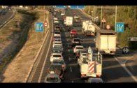 Interceptados 355 kilos de hachís en Algeciras de un vehículo que se dio a la fuga