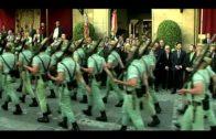 Lunes Santo de esplendor en Algeciras con La Legión, acompañando a La Columna y Las Lágrimas
