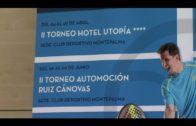 Mañana comienza  el II Torneo de Padel Hotel Utopía