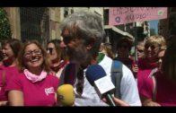 Manuel García cierra su marcha solidaria por el Campo de Gibraltar en apoyo a los enfermos de cáncer
