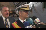 Más de 300 personas juran la bandera a bordo del LHD 'Juan Carlos I' en Algeciras
