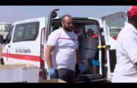 Rescatados 12 inmigrantes de origen subsahariano en una patera en el Estrecho