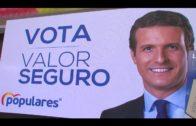 Sanz, García Pelayo y Landaluce, cierran la campaña provincial del PP en Algeciras