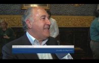 El alcalde recibe a la plantilla de Enerdrink UDEA con motivo de su ascenso