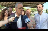 El candidato del PSOE a la Alcaldía, Juan Lozano presenta sus propuestas en materia deportiva
