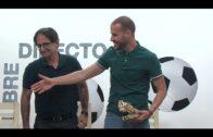 Las peñas reconocen a los jugadores del Algeciras CF