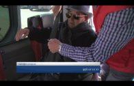 Servicio de transporte gratuito de Cruz Roja para los electores algecireños con movilidad reducida