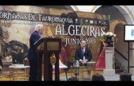 """Crescencio Torés presenta su obra  """"50 aniversario de la nueva plaza de toros de Algeciras"""""""