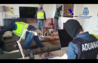 Desmantelada una red de narcotraficantes que introducía cocaína en contenedores por el Puerto
