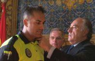 Landaluce preside la toma de posesión de cuatro nuevos oficiales de la Policía Local