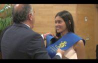 Los alumnos con matrícula de honor en Bachillerato reciben el premio a la excelencia académica