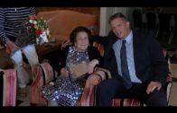 Pepa Villanueva cumple 100 años y lo celebra en el Hotel Cristina donde trabajó casi 20 años