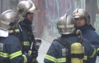 Una herida con quemaduras y una niña afectada por humo tras el incendio de un colchón en Algeciras