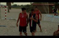 Brillante actuación de José Luis Carrero con la andaluza en el nacional de balonmano playa