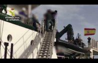 Desmantelada una plataforma de proyección de 'narcolanchas' establecida junto a las islas Chafarinas