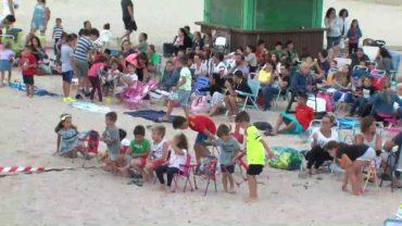 Cine en la playa de Getares en el marco de la programación estival de Algeciras