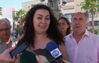 Concentración de Victoria Kent en recuerdo de las 43 víctimas de la violencia machista en España