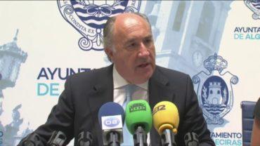 El alcalde pide a AVRA que devuelvan parte de la deuda que tienen con Algeciras