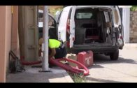 El Ayuntamiento repone el alumbrado en la calle Araucaria