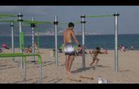 Inaugurado un nuevo parque de calistenia en la playa de Getares