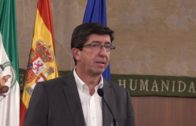 Juan Marín critica que la Junta no tenga información sobre la llegada del Audaz a Algeciras