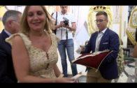 La Iglesia de La Palma acoge la tradicional ofrenda floral a la Patrona de Algeciras