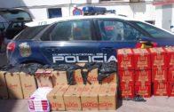 La Policía Nacional se incauta de más de 15.000 cajetillas de tabaco de contrabando en La Línea