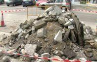 Las obras de acerado en la avenida 28 de Febrero, a punto de concluir