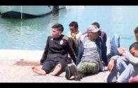 Salvamento marítimo ha rescatado esta mañana una patera en aguas del Estrecho de Gibraltar