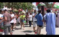 Solidaridad con el pueblo saharahui se concentra en la puerta del consulado de Marruecos