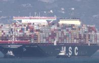 El portacontenedores más grande del mundo ya está en el puerto de Algeciras