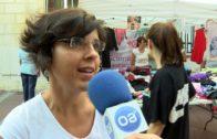 La asociación Victoria Kent organiza un mercadillo solidario en la calle Ancha