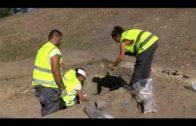 La excavación arqueológica de Huerta del Carmen investiga si hubo un seismo en el siglo XV