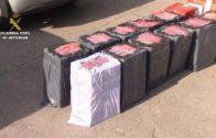 La Guardia Civil interviene 3.490 cajetillas de tabaco de contrabando en el Puerto de Algeciras.