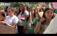 La lucha contra el cambio climático reúne este mediodía a  colectivos de estudiantes en Algeciras