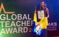 La profesora de Puertoblanco, Palma Garcia Hormigo, galardonada en el Global  Teacher Award