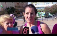 Algeciras se suma al Día Mundial Contra el Cáncer de Mama durante la macha solidaria
