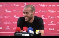 Borja y Sánchez valoran positivamente el punto ante el Córdoba