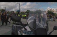 Concentración motera en Algeciras en recuerdo del guardia civil fallecido Fermín Cabezas