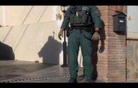 Operación contra el narcotráfico en el Cortijo Real