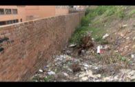Adelante Algeciras reclama solución al muro del Colegio Campo de Gibraltar