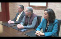 Encuentro de trabajo entre Landaluce y represenantes de la empresa Innovía Coptalia