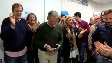 José Ignacio Landaluce recupera el escaño en el Senado que perdió en las anteriores elecciones