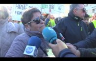 Miles de personas participan en la manifestación en defensa de la sanidad pública en la comarca