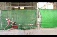 Terminada la estabilización de la fachada y el derribo interior, comenzarán las obras en Casa Millán