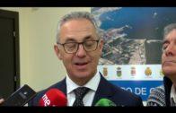 Juan Lozano se reúne con trabajadores españoles en Gibraltar