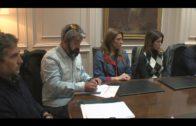 Encuentro del Alcalde de Algeciras con los trabajadores de Vigilancia Aduanera