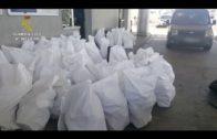 La Guardia Civil interviene cerca de 2800 kilogramos de hachís en un vehículo con doble fondo